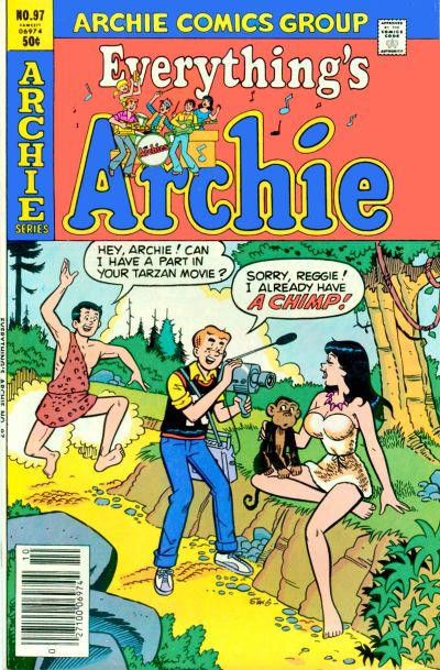 Cover for Everything's Archie (1969 series) #97