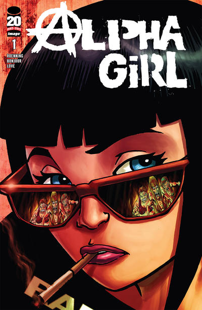 Cover for Alpha Girl (Image, 2012 series) #1
