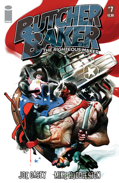 Cover for Butcher Baker, the Righteous Maker (Image, 2011 series) #7