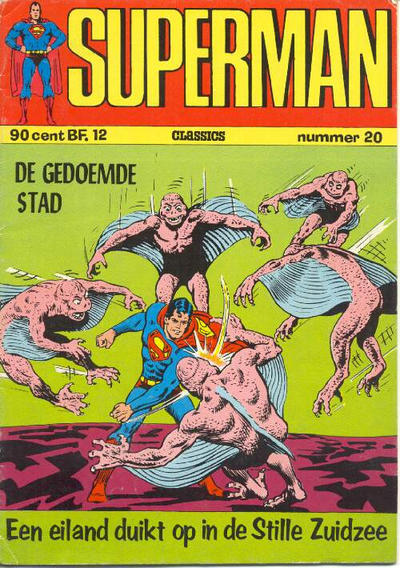 Cover for Superman Classics (Classics/Williams, 1971 series) #20