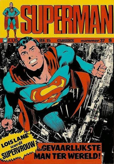 Cover for Superman Classics (Classics/Williams, 1971 series) #37