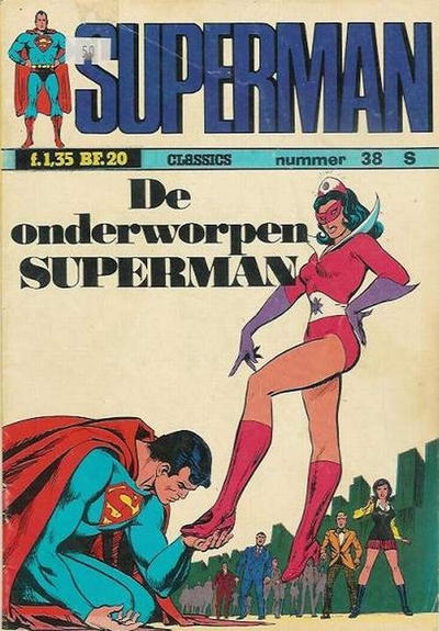 Cover for Superman Classics (Classics/Williams, 1971 series) #38