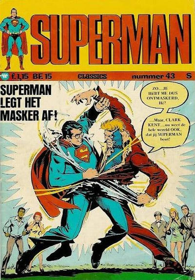 Cover for Superman Classics (1971 series) #43