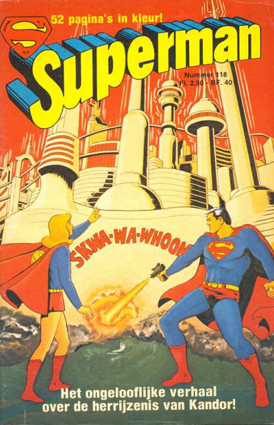 Cover for Superman Classics (Classics/Williams, 1971 series) #118