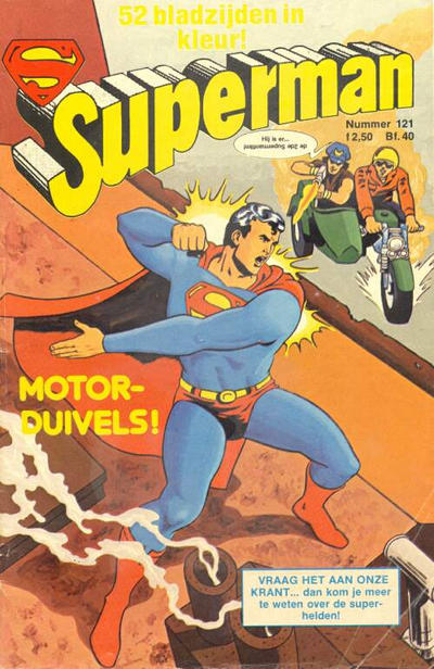 Cover for Superman Classics (Classics/Williams, 1971 series) #121