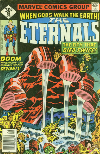 Cover for The Eternals (Marvel, 1976 series) #10