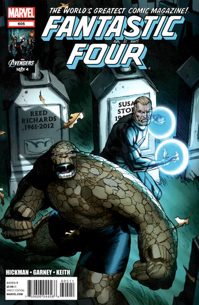 Cover for Fantastic Four (2012 series) #605