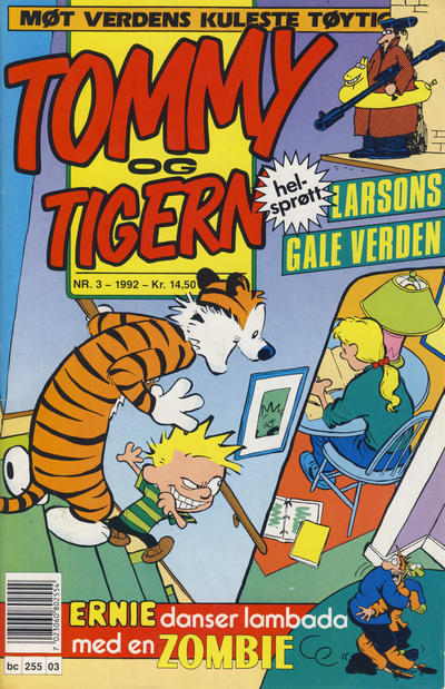 Cover for Tommy og Tigern (1989 series) #3/1992