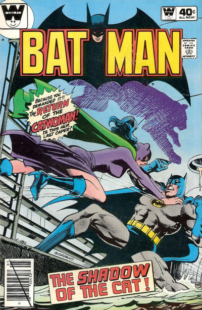 Cover for Batman (DC, 1940 series) #323