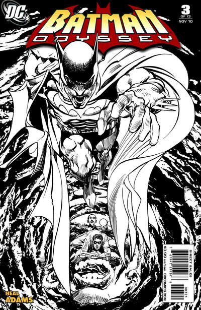Cover for Batman: Odyssey (DC, 2010 series) #3 [Sketch cover]