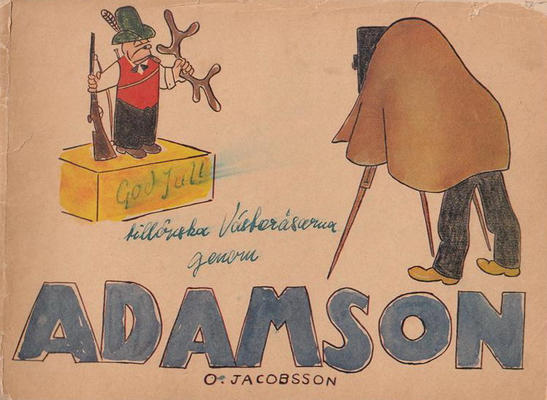 Cover for Adamson (Åhlén & Åkerlunds, 1921 series) #1947