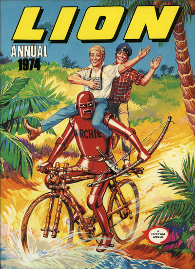 Cover for Lion Annual (Fleetway Publications, 1954 series) #1974