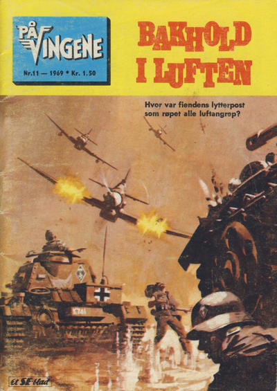 Cover for På Vingene (1963 series) #11/1969