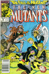 Cover Thumbnail for The New Mutants (1983 series) #59 [Newsstand Edition]