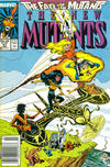Cover Thumbnail for The New Mutants (1983 series) #61 [Newsstand Edition]