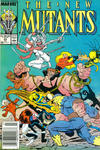 Cover Thumbnail for The New Mutants (1983 series) #65 [Newsstand Edition]