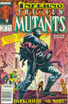 Cover Thumbnail for The New Mutants (1983 series) #73 [Newsstand Edition]