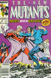 Cover Thumbnail for The New Mutants (1983 series) #75 [Newsstand Edition]