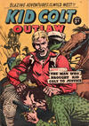 Cover for Kid Colt Outlaw (Horwitz, 1952 ? series) #40