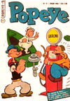 Cover for Popeye (Editora Brasil-América [EBAL], 1953 series) #5
