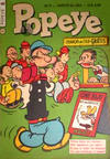 Cover for Popeye (Editora Brasil-América [EBAL], 1953 series) #6