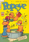 Cover for Popeye (Editora Brasil-América [EBAL], 1953 series) #11