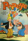 Cover for Popeye (Editora Brasil-América [EBAL], 1953 series) #48
