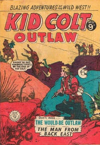 Cover Thumbnail for Kid Colt Outlaw (Horwitz, 1950 ? series) #37