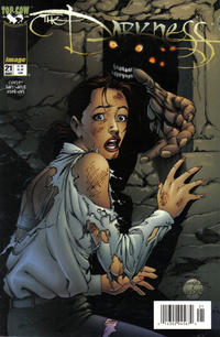Cover Thumbnail for The Darkness (Image, 1996 series) #21 [Newsstand Edition]
