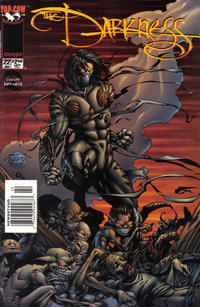 Cover Thumbnail for The Darkness (Image, 1996 series) #22 [Newsstand Edition]