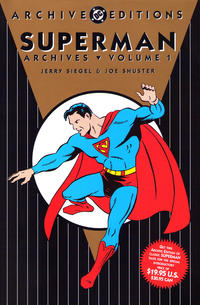 Cover Thumbnail for Superman Archives (DC, 1989 series) #1 [19.95 Cover Price Edition]