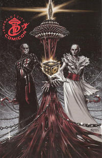 Cover Thumbnail for Clive Barker's Hellraiser (Boom! Studios, 2011 series) #10 [ECCC Ltd Edition]