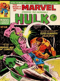 Cover Thumbnail for The Mighty World of Marvel (Marvel UK, 1972 series) #68