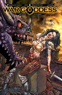 Cover Thumbnail for War Goddess (Avatar Press, 2011 series) #6