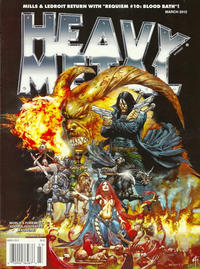 Cover Thumbnail for Heavy Metal Magazine (Metal Mammoth, Inc., 1992 series) #v36#1