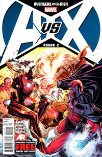 Cover for Avengers vs. X-Men (Marvel, 2012 series) #2