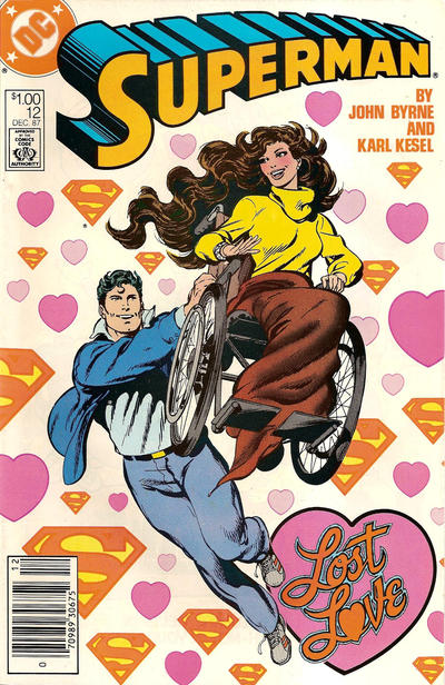 Cover for Superman (DC, 1987 series) #12 [canadian price]