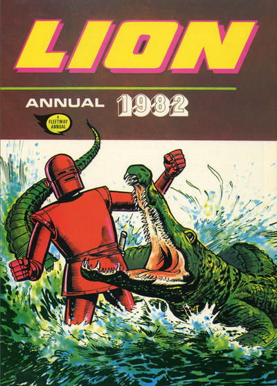 Cover for Lion Annual (1954 series) #1982