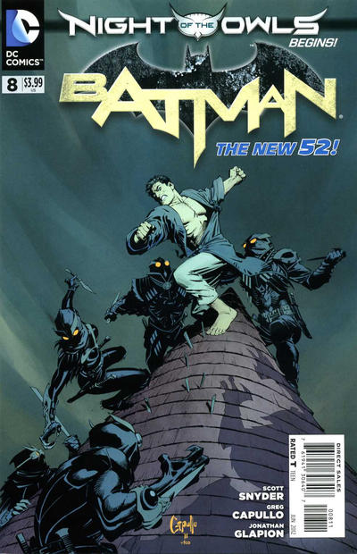 Cover for Batman (DC, 2011 series) #8 [Combo Pack]