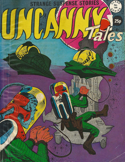 Cover for Uncanny Tales (Alan Class, 1963 series) #166