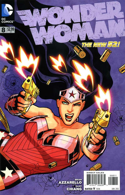 Cover for Wonder Woman (DC, 2011 series) #8
