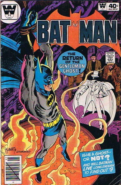 Cover for Batman (1940 series) #319