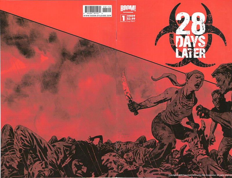 Cover for 28 Days Later (Boom! Studios, 2009 series) #1 [Cover B]
