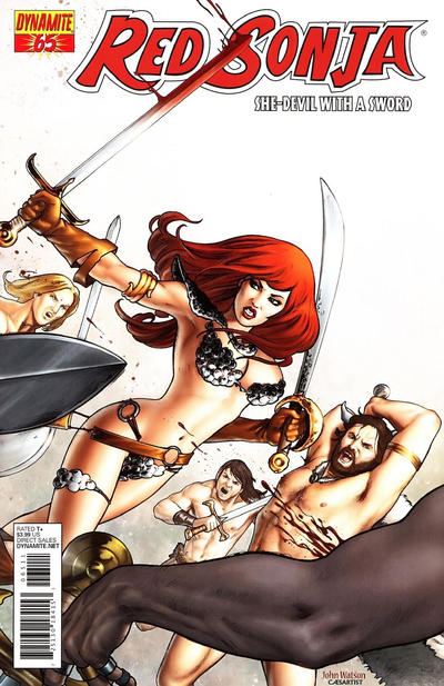 Cover for Red Sonja (Dynamite Entertainment, 2005 series) #65 [Cover A]