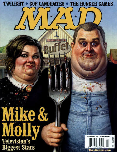 Cover for MAD (EC, 1952 series) #514