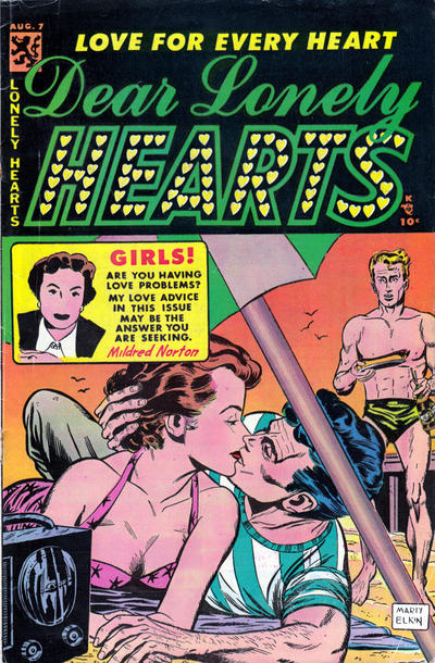 Cover for Dear Lonely Hearts (Comic Media, 1953 series) #7