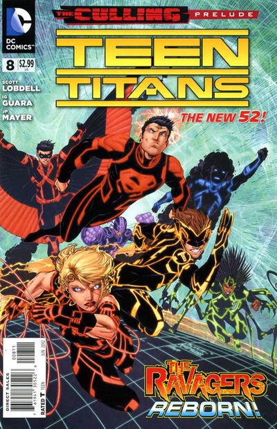 Cover for Teen Titans (2011 series) #8