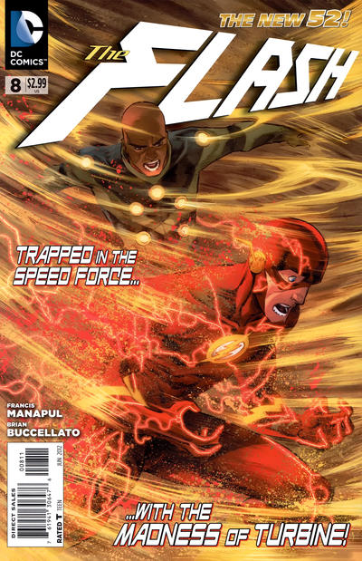 Cover for Flash (2011 series) #8