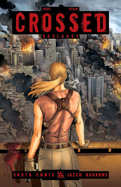 Cover for Crossed Badlands (Avatar Press, 2012 series) #4 [Torture Cover - Jacen Burrows]