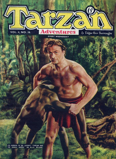 Cover for Tarzan Adventures (1953 series) #v4#16